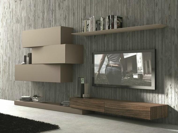 unidades de tv de estilo moderno
