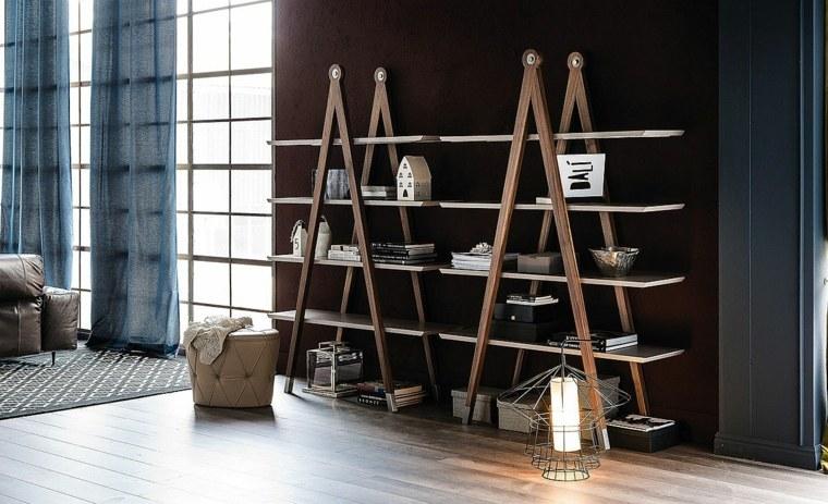 muebles minimalistas-modernos-libros