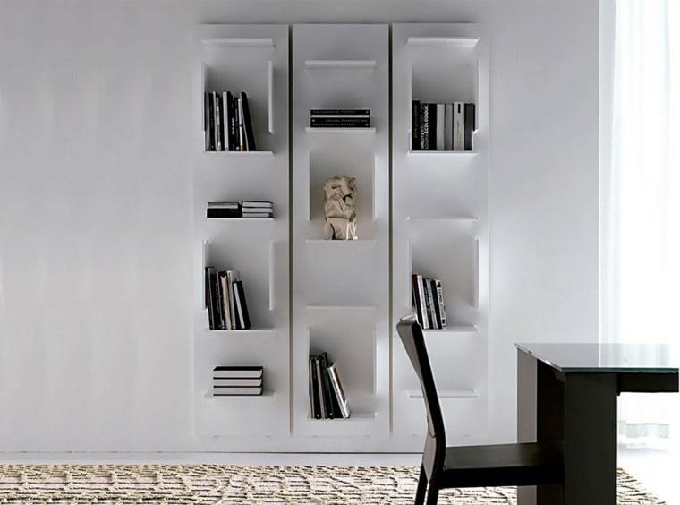 Estantes Para Libros Modernos Y Funcionales Para El Interior
