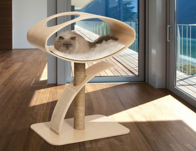 muebles para gatos-camas-rascadores