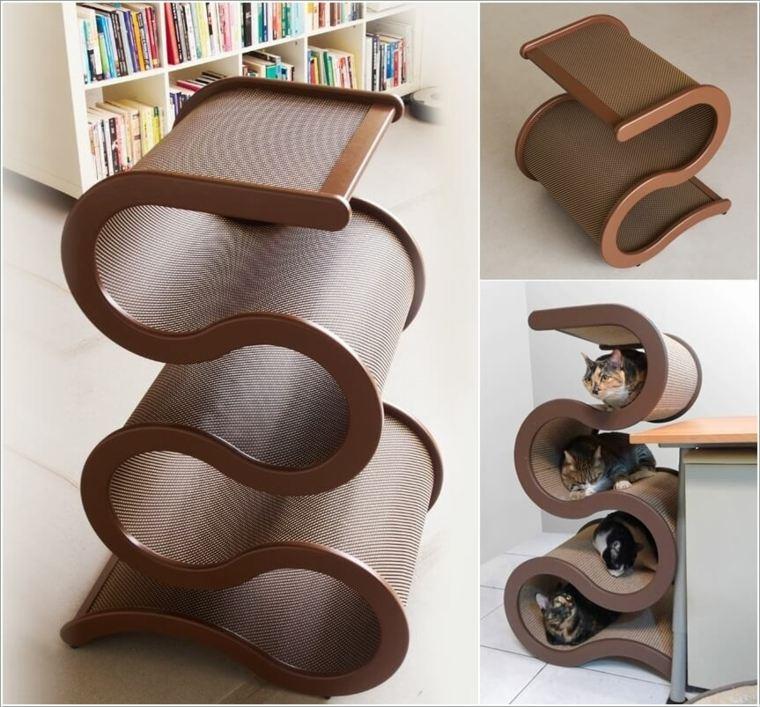 muebles para gatos-formas-originales