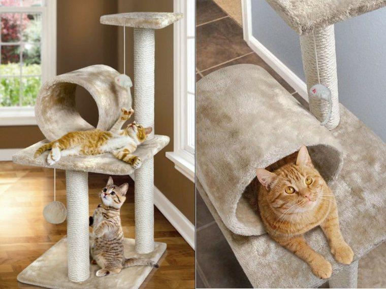 muebles para gatos-juegos-rascadores