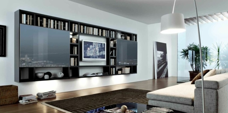 diseños unidades de tv de estilo moderno