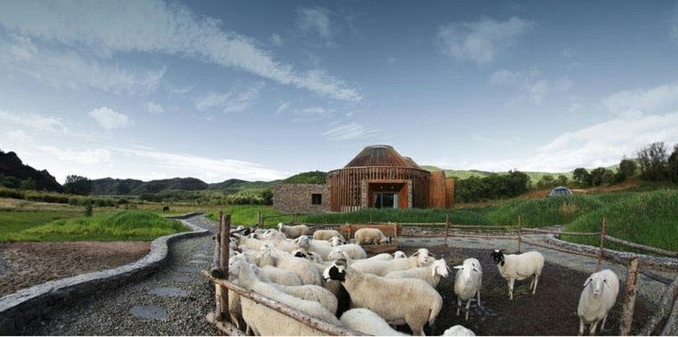 paisaje-con-ovejas