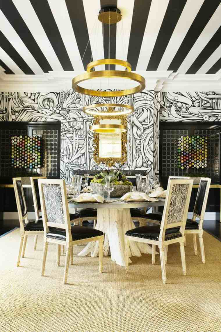 papel-de-pared-decorativo-comedor-etilo-blanco-negro