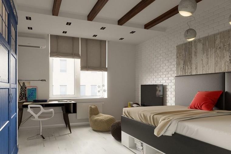 pared-ladrillo-blanco-habitacion-chico-ideas