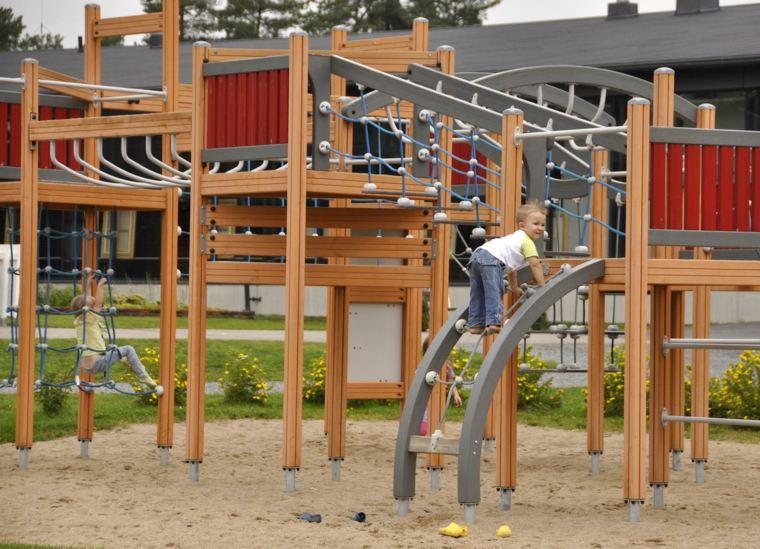 parque infantil equipos