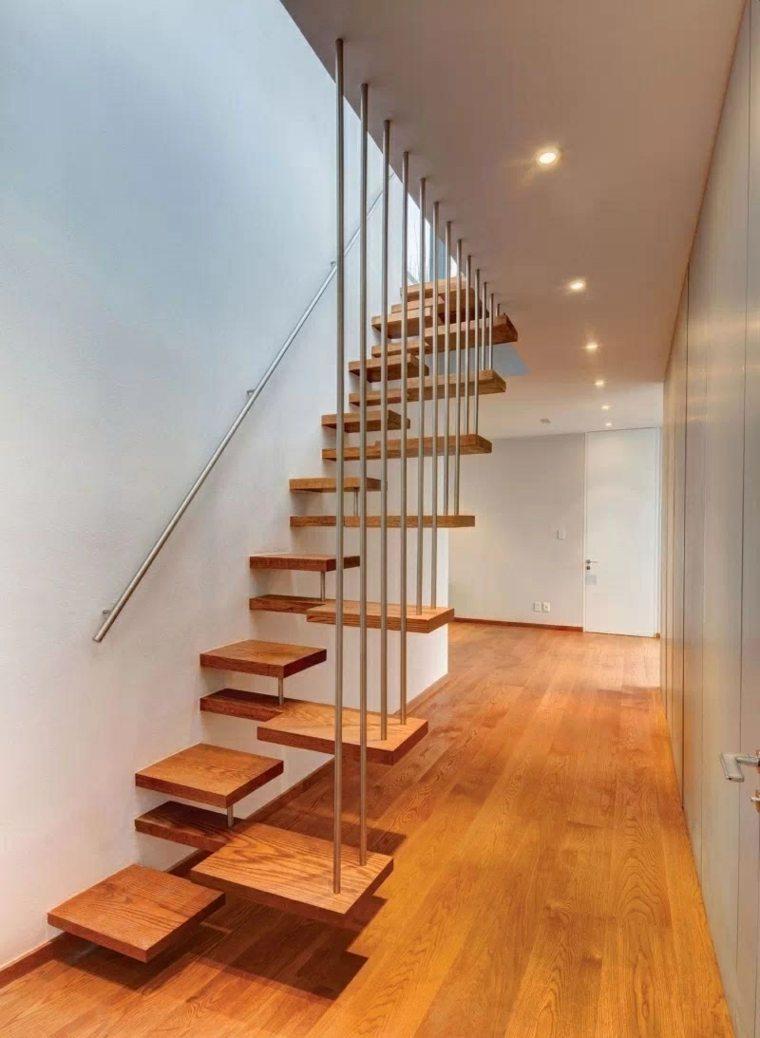 escaleras colgantes modernas