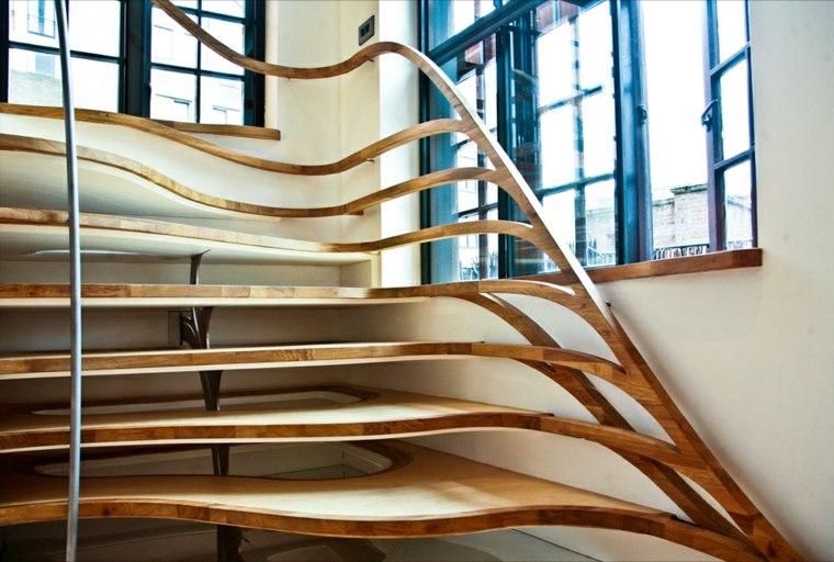 pasasmanos para escaleras interiores-madera-modernas
