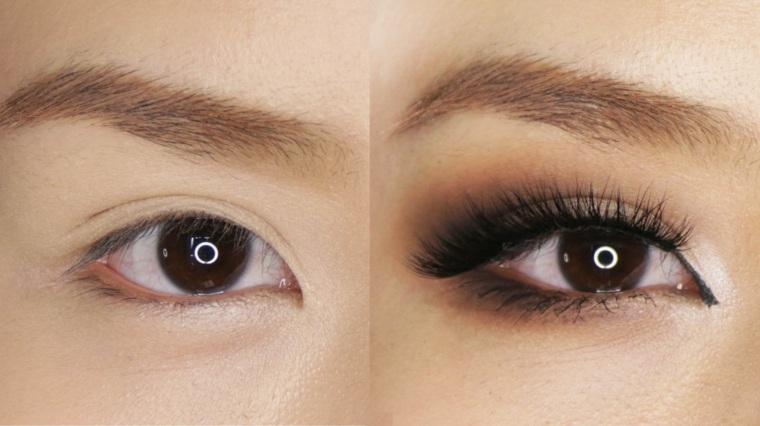 pasos para maquillarse los ojos-ahumados