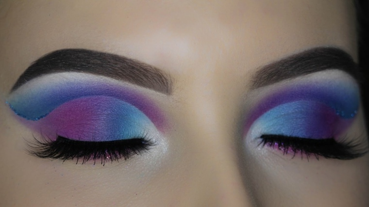pasos para maquillarse los ojos-colores
