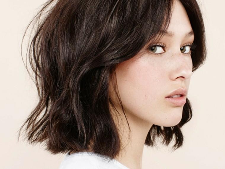 peinados con media melena-modernos