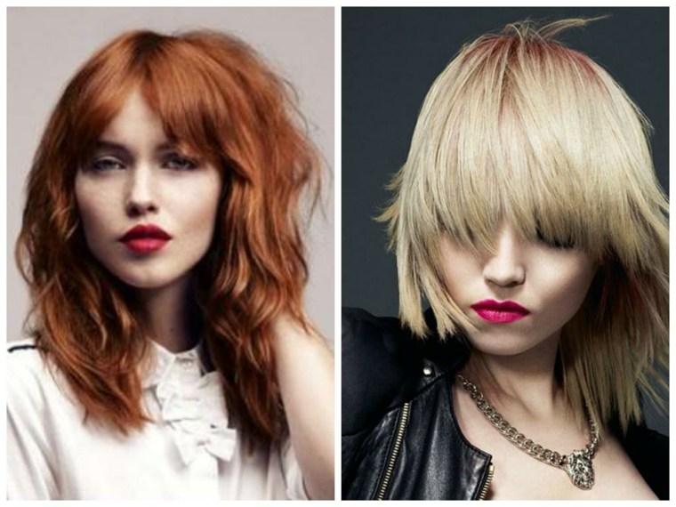 peinados con media melena-mujeres