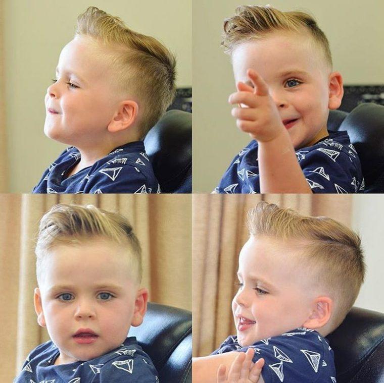 peinados modernos bebe