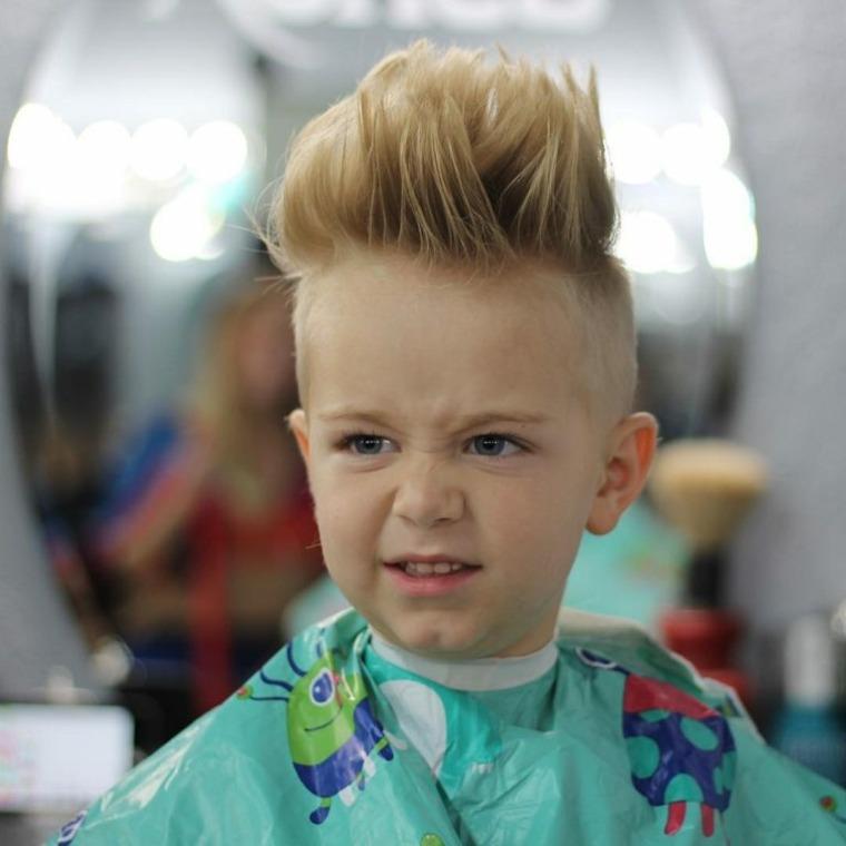 peinados modernos erizo