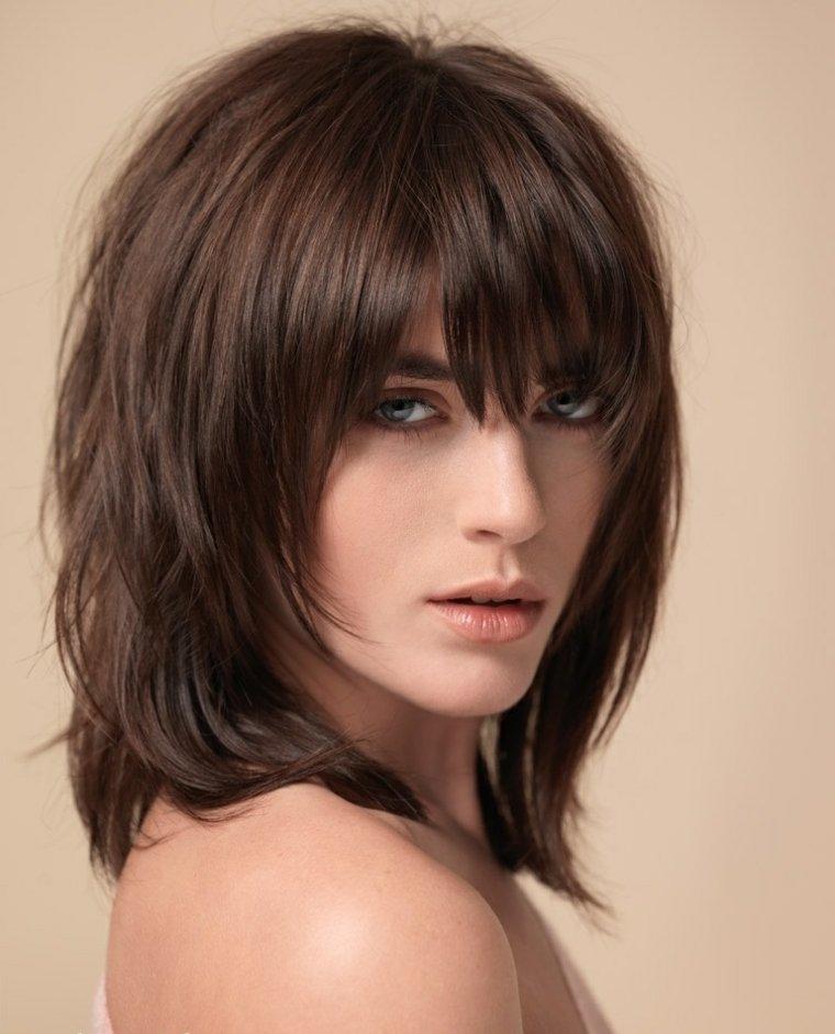 peinados modernos media-melena-mujeres