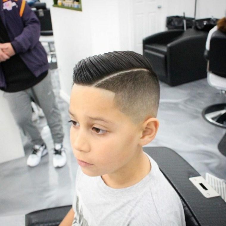 peinados modernos mohawk