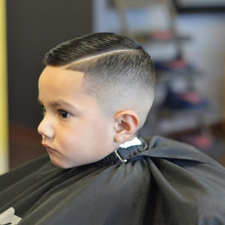 peinados modernos niño