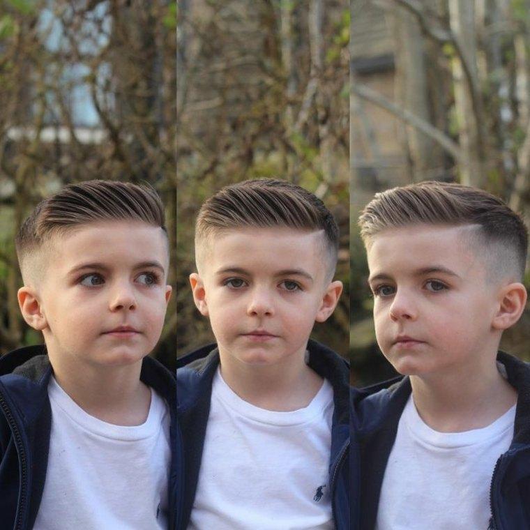 peinados modernos niños