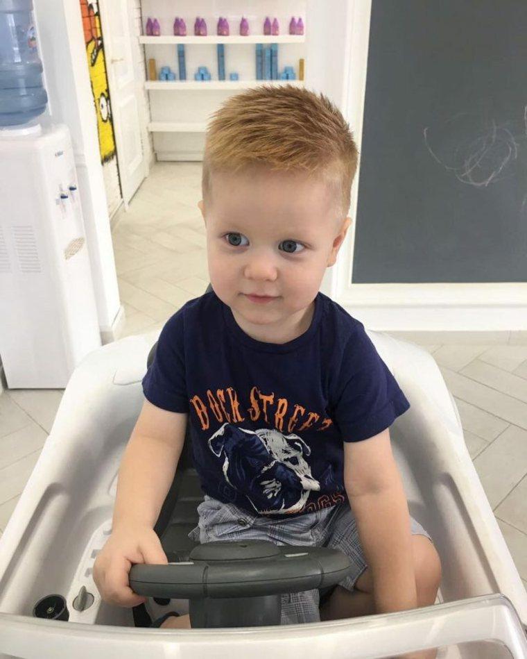 peinados modernos para-bebes