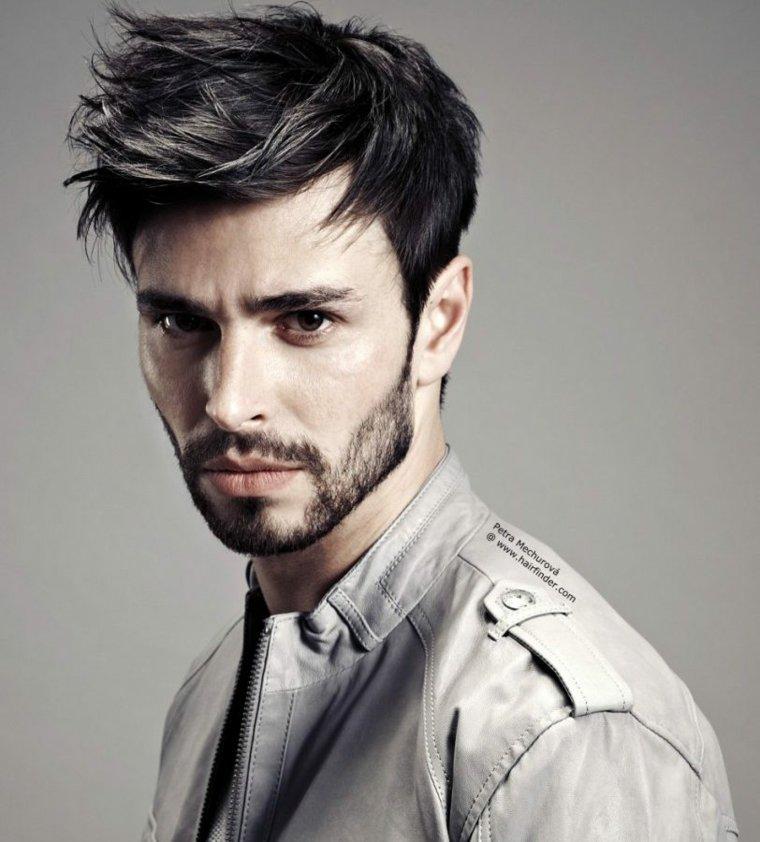 peinados modernos para hombres-elegantes-hipster