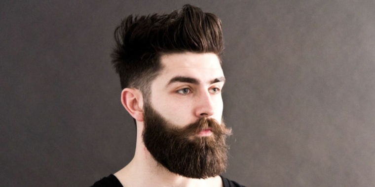peinados modernos para hombres-hipster-barba
