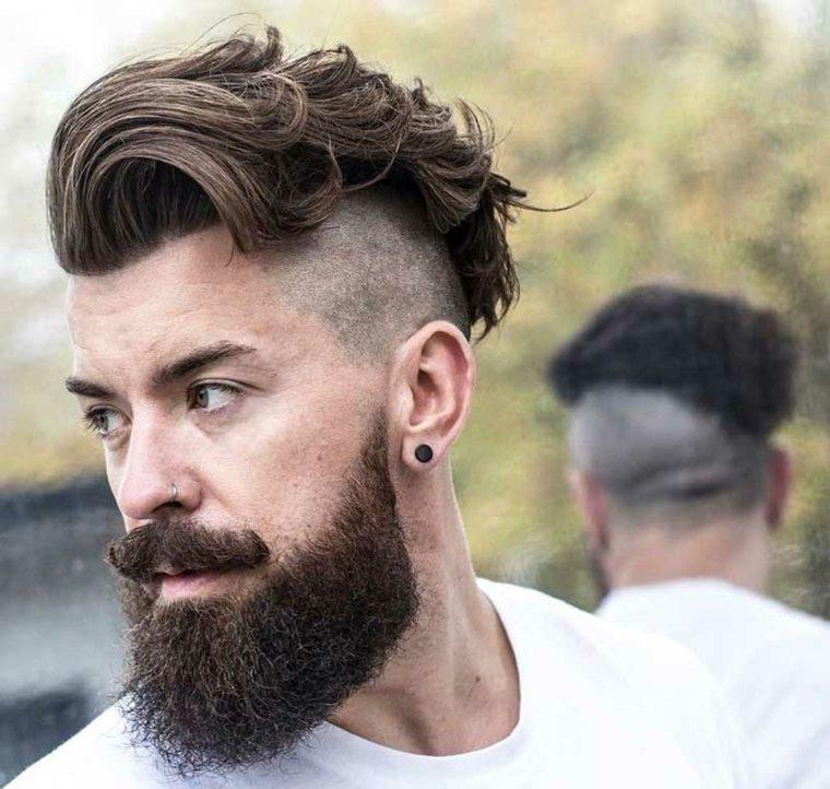 peinados modernos para hombres-hipster-rapados