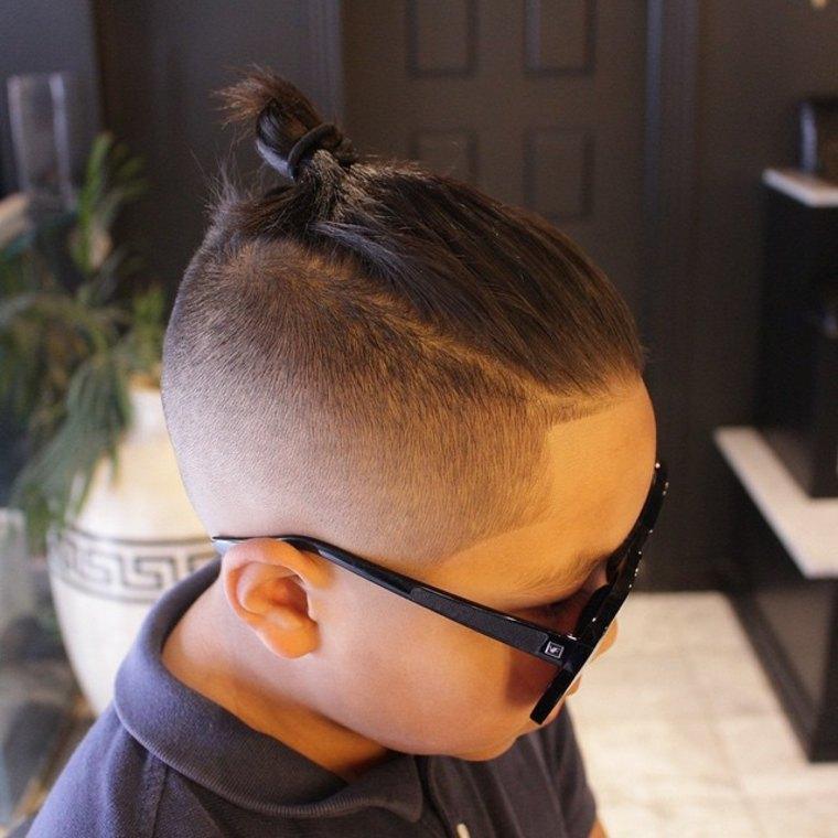 peinados modernos para-niños