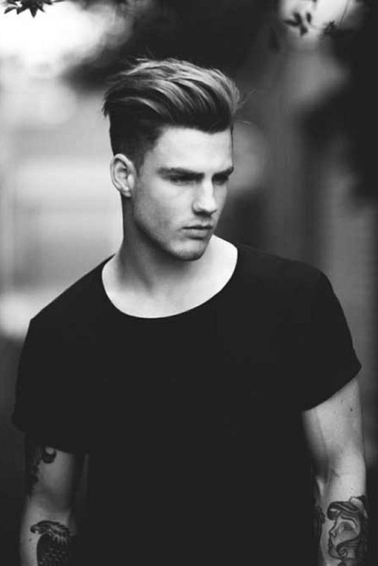 peinados modernos para hombres-chicos-hipster