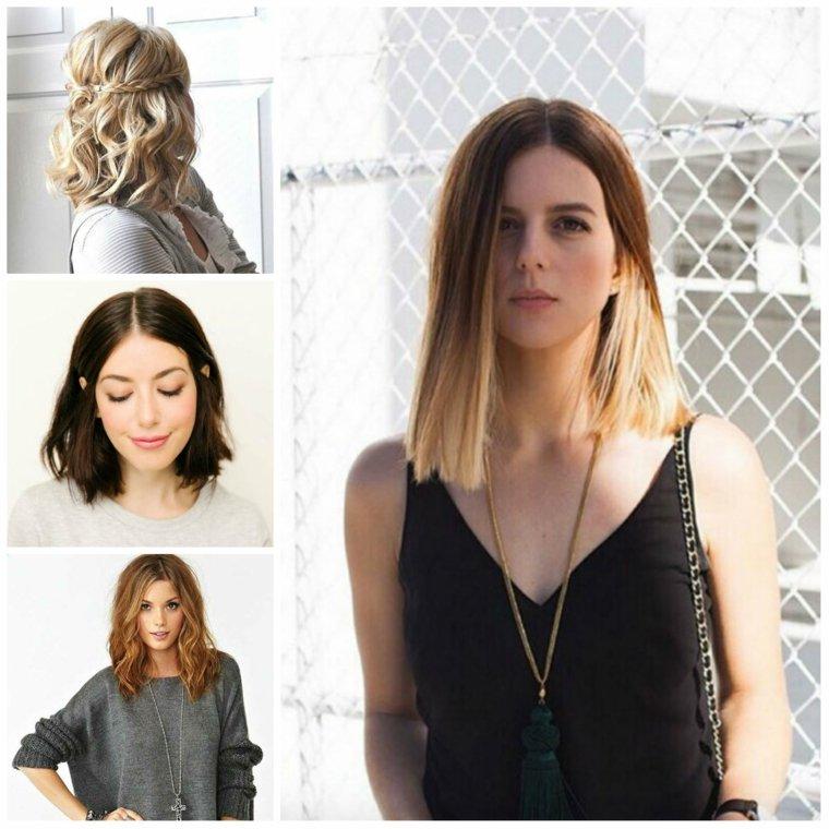 peinados pelo media melena-mujeres