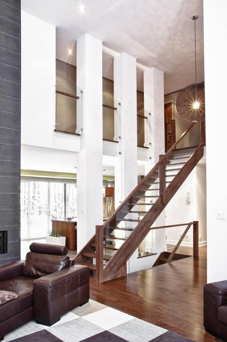 originales escaleras modernas de estilo minimalista