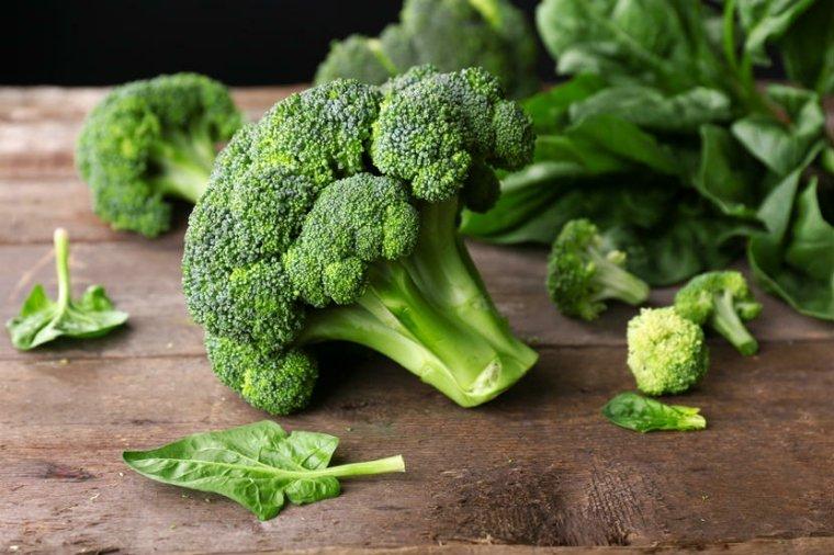 piel sana brocoli