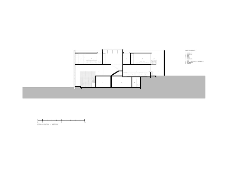El segundo nivel es donde están los dormitorios