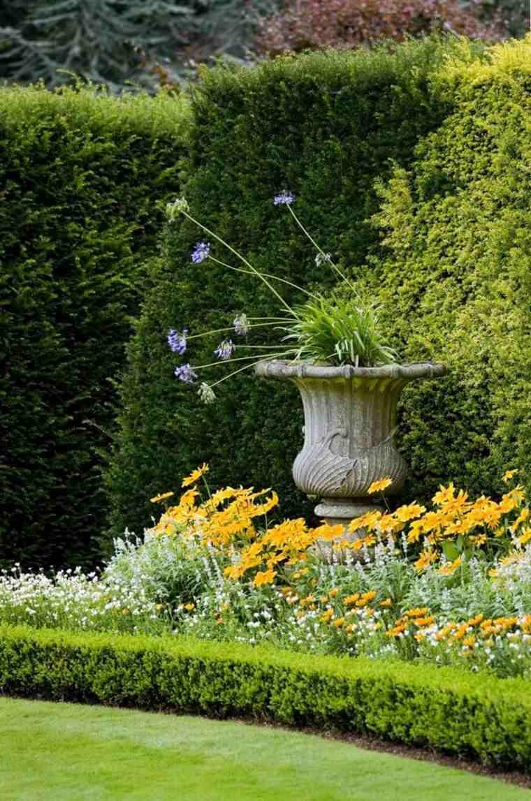 cuidar los setos de jardín