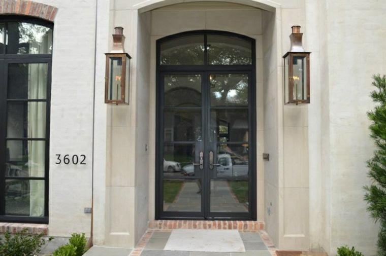 puertas de hierro modernas
