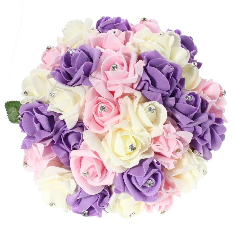 ramos de flores para boda-decoraciones