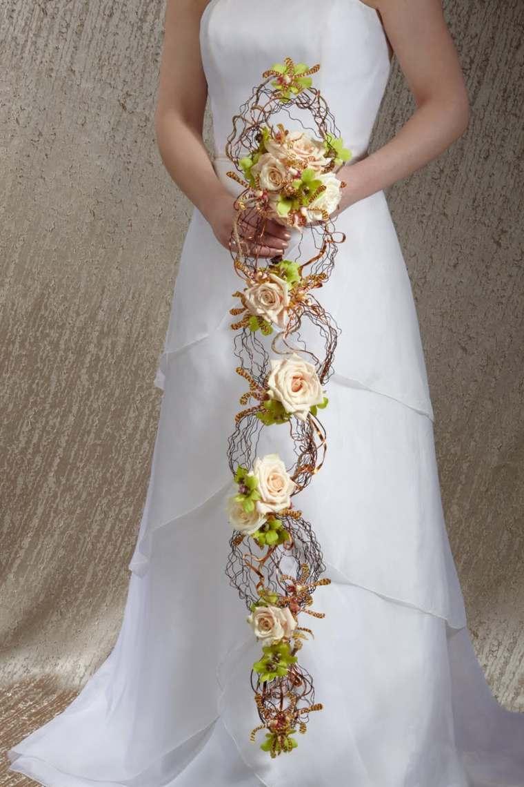 ramos de flores para boda-original