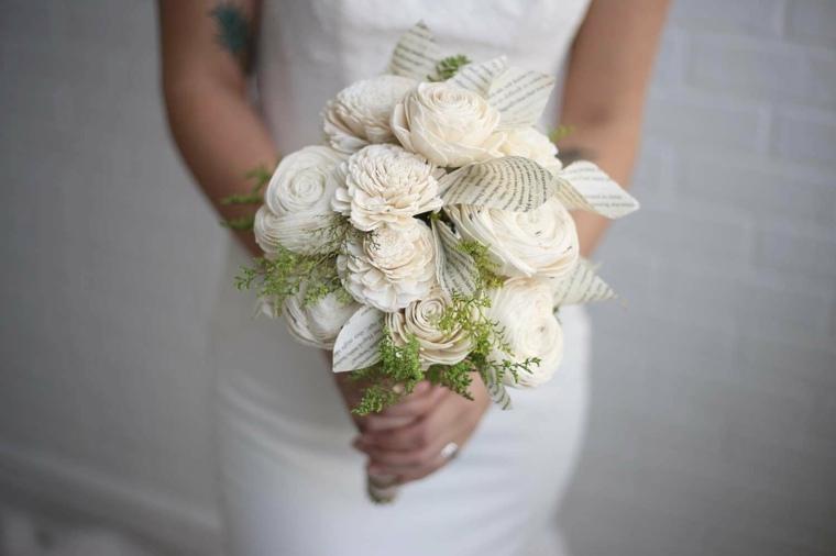 ramos de flores para bodas-bohemias