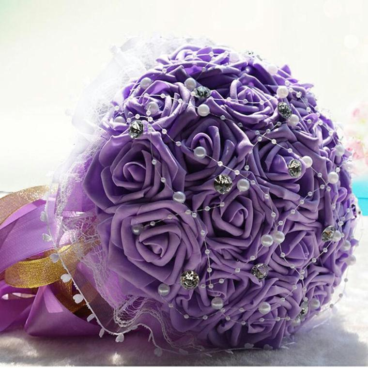 ramos de flores para bodas-decoraciones