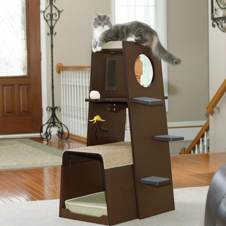 rascadores para gatos-domesticos-modernos