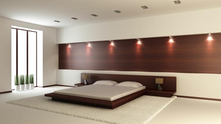 recamaras modernas-decoracion-madera