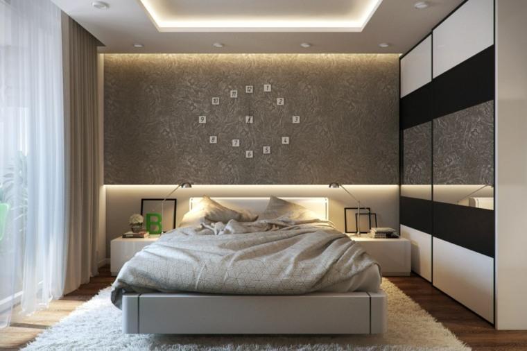 recamaras modernas-decoraciones-paredes