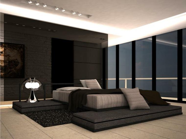 recamaras modernas-estilosas-grandes-ventanales