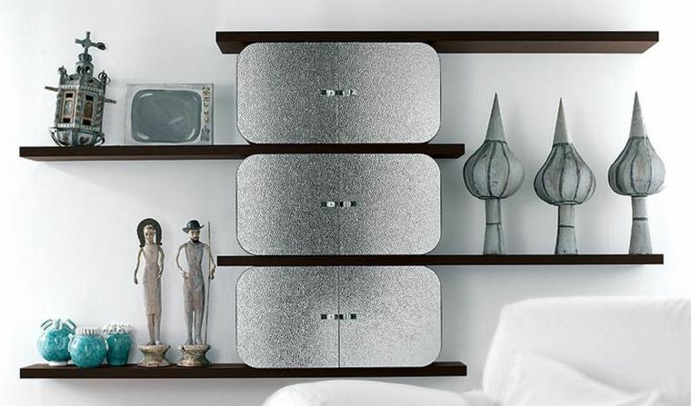 repisas minimalistas-decorar-interiores