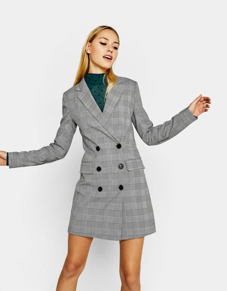 ropa de mujer-abrigo-cuadros
