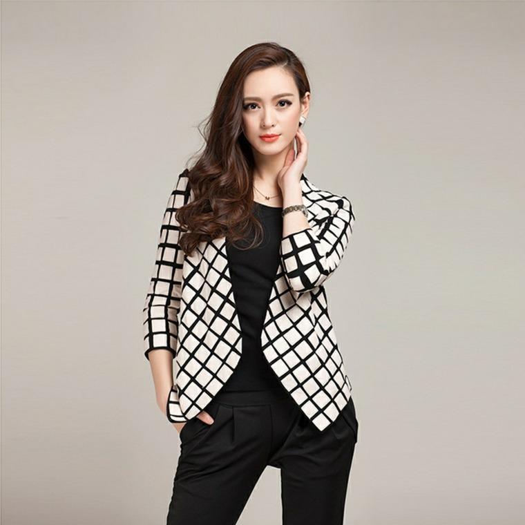 ropa de mujer-americana-cuadros