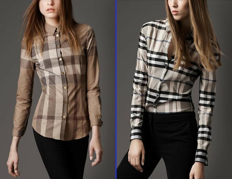 ropa de mujer-cuadrados-camisas