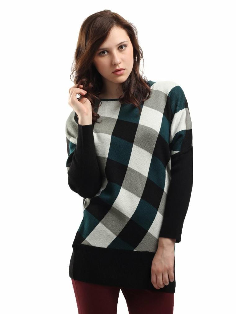 ropa de mujer-moda-cuadros