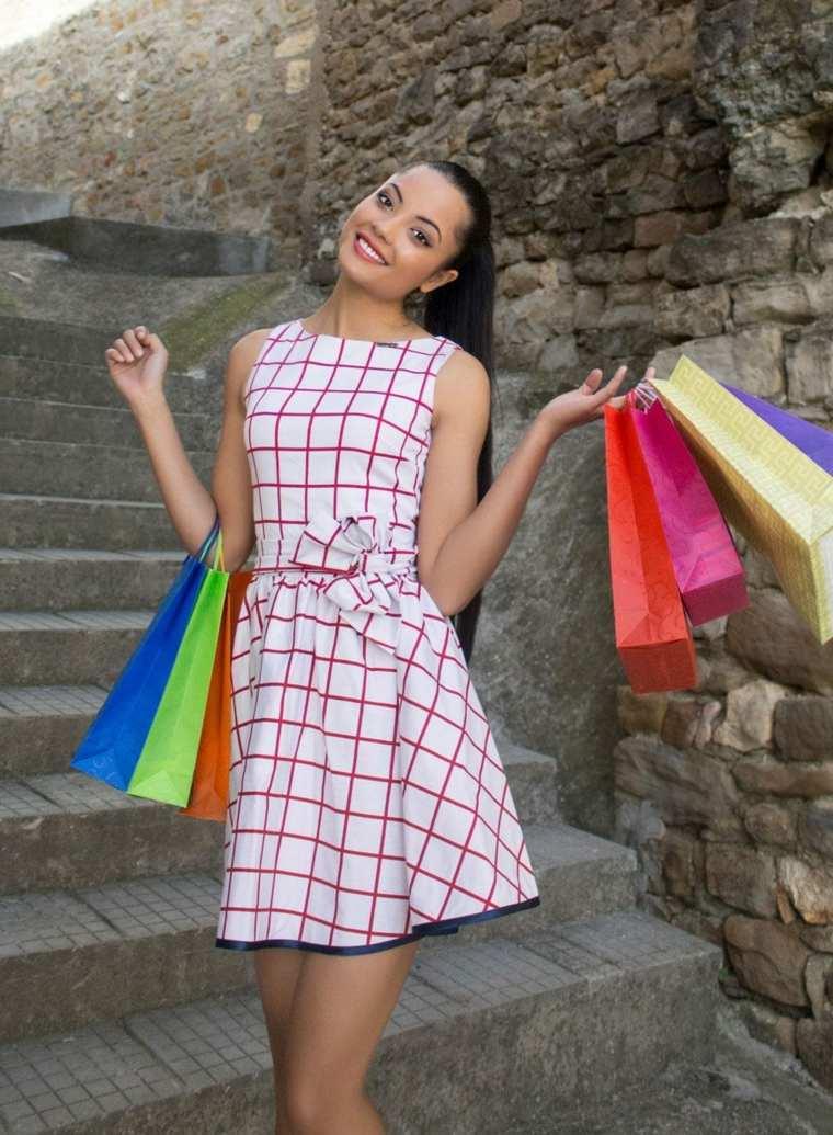 ropa de mujer-vestido-cuadrados-colores