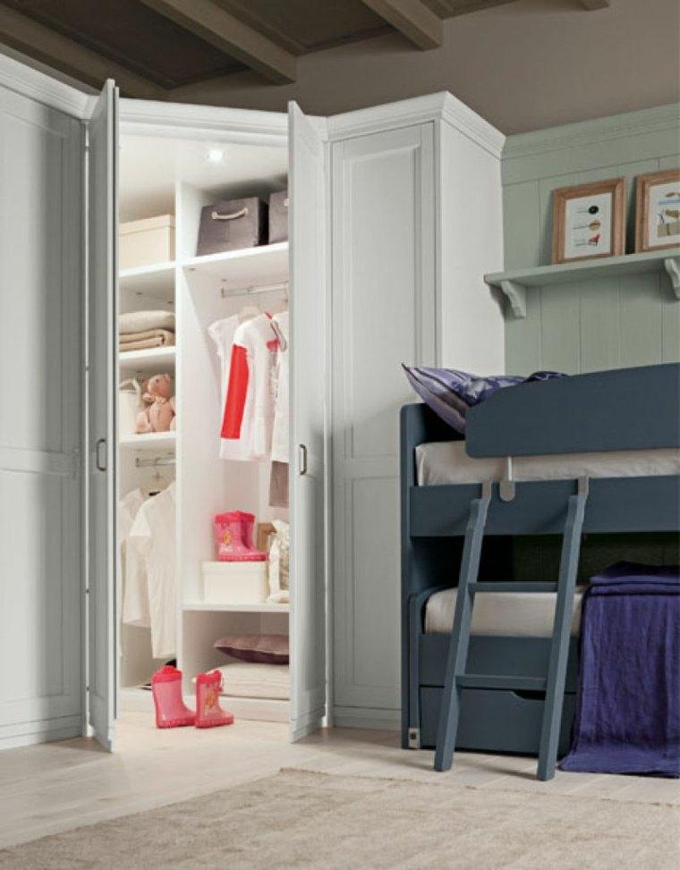 roperos modernos-madera-habitacion-nino